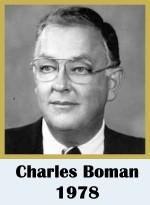Click for biography of CHarles Boman