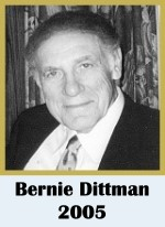 Click for biography of Bernie Dittman