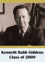 Click for biography of Kenneth Rabb Giddens