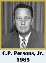 Click for biography of C.P. Persons, Jr.